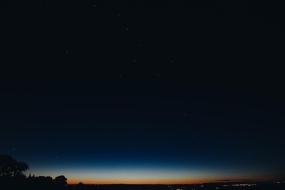 Sternschnuppen schauen