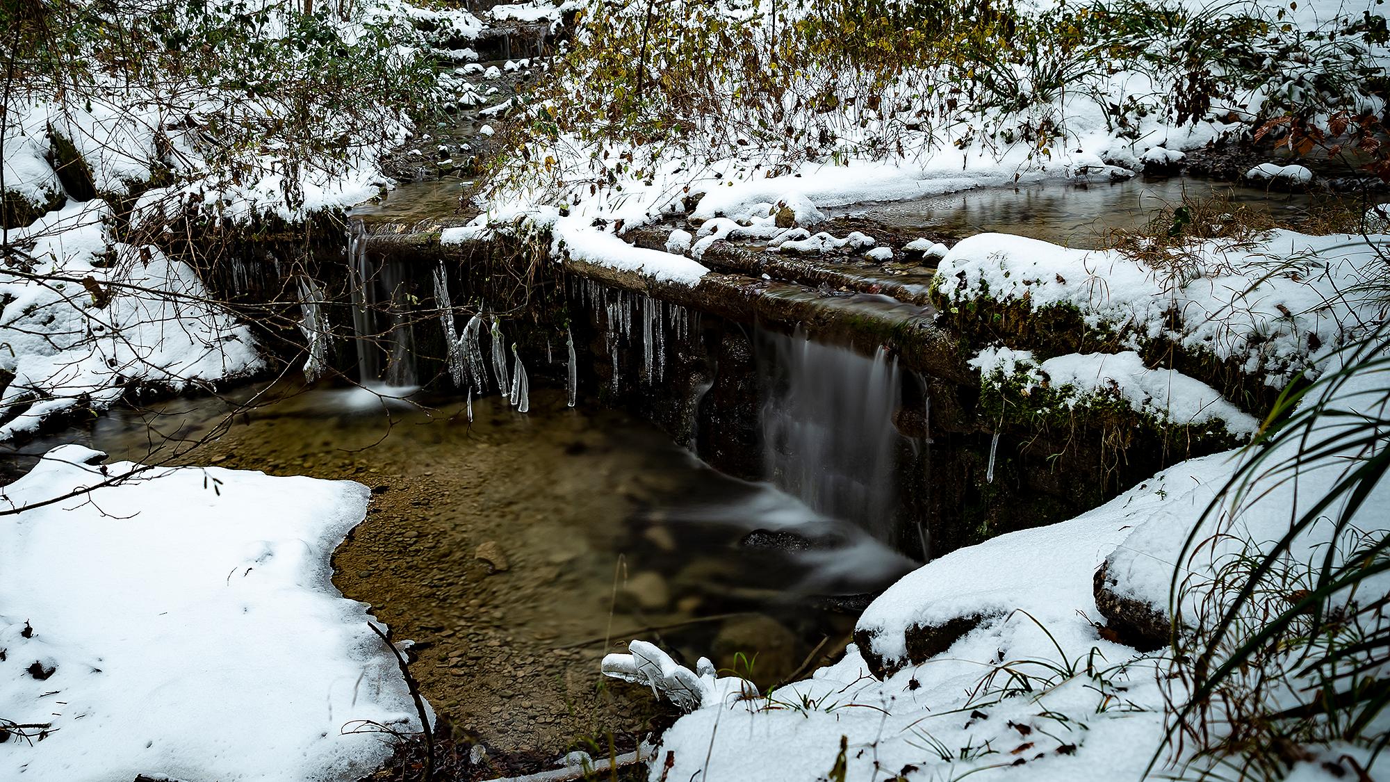 Zeller Giessen im Winter